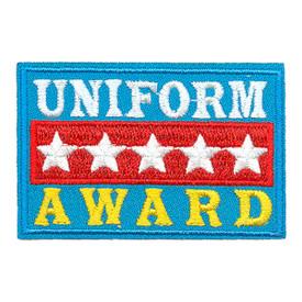 S-3655 Uniform Award Patch