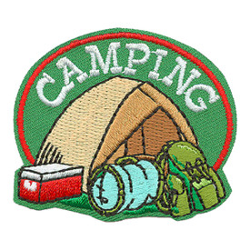 S-3657 Camping Patch