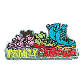 S-3668 Family Camping Patch