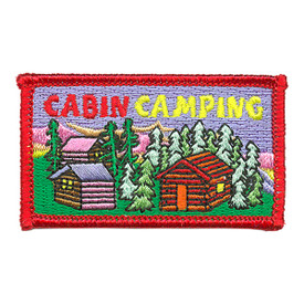 S-3670 Cabin Camping Patch