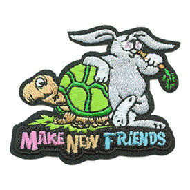 S-3676 Make New Friends Patch