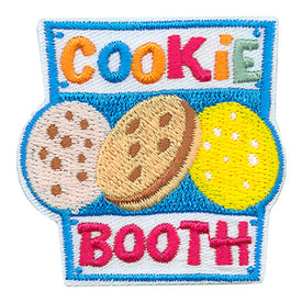 S-3680 Cookie Booth Patch
