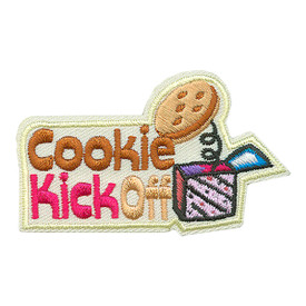 S-3684 Cookie Kick Off Patch