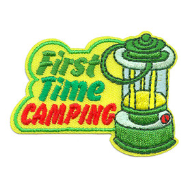 S-3689 First Time Camping Patch