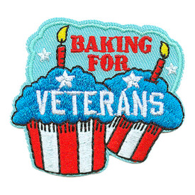 S-3691 Baking For Veterans Patch