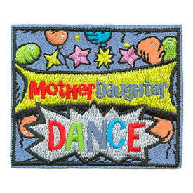 S-3697 Mother Daughter Dance Patch