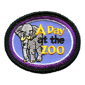 S-0271 A Day At The Zoo Patch