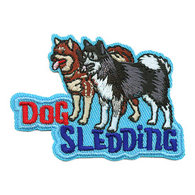 S-3703 Dog Sledding Patch