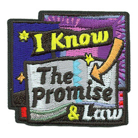 S-3720 I Know The Promise & Law Patch