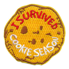 S-3721 I Survived Cookie Season Patch