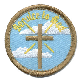 S-0272 Service To God Patch