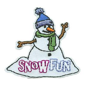 S-3722 Snow Fun Patch