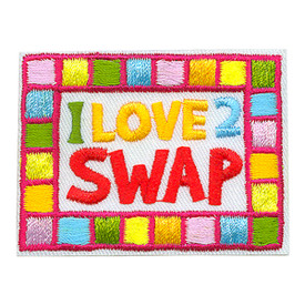 S-3724 I Love 2 Swap Patch
