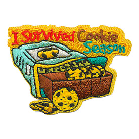 S-3729 I Survived Cookie Season Patch
