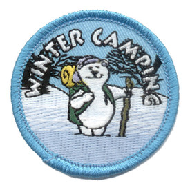 S-0275 Winter Camping Patch