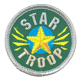 S-3749 Star Troop Patch