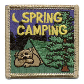 S-0276 Spring Camping Patch