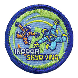 S-3764 Indoor Skydiving Patch