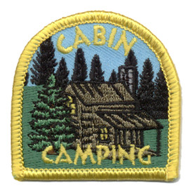 S-0277 Cabin Camping (Dome) Patch