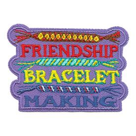 S-3781 Friendship Bracelet Patch