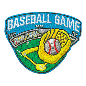 S-3786 Baseball Game Patch