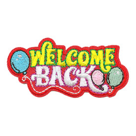S-3788 Welcome Back Patch