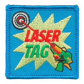 S-3795 Laser Tag Patch