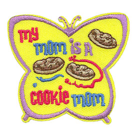 S-3797 My Mom Is A Cookie Mom Patch