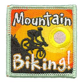S-3804 Mountain Biking Patch