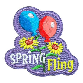 S-3809 Spring Fling Patch