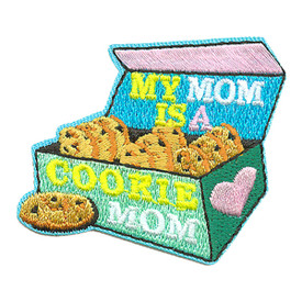 S-3812 My Mom Is A Cookie Mom Patch