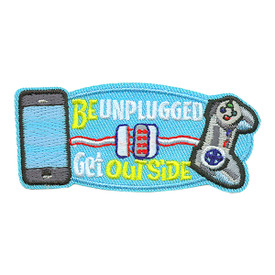 S-3818 Be Unplugged Get Outside Patch