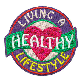 S-3824 Living Healthy Lifestyle Patch