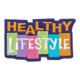 S-3827 Healthy Lifestyle Patch
