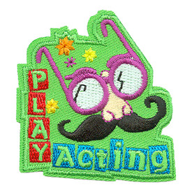 S-3840 Play Acting Patch