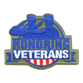 S-3847 Honoring Veterans Patch