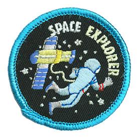 S-3857 Space Explorer Patch