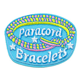S-3866 Paracord Bracelets Patch