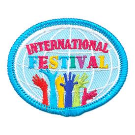 S-3880 International Festival Patch
