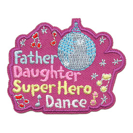 S-3886 Father Daughter Super Patch
