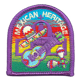 S-3887 Mexican Heritage Patch