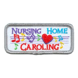 S-3888 Nursing Home Caroling Patch