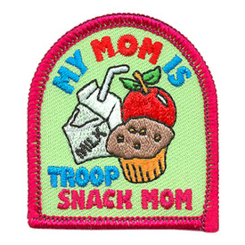 S-3896 My Mom Is Snack Mom Patch