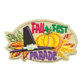 S-3901 Fall Fest Parade Patch