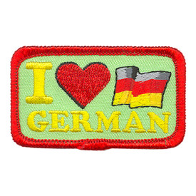 S-3906 I Love German Patch