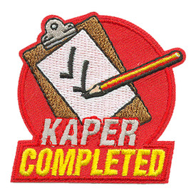 S-3910 Kaper Completed Patch