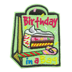 S-3911 Birthday In A Bag Patch