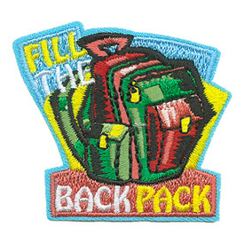 S-3912 Fill The Back Pack Patch