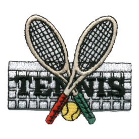 S-0292 Tennis - Racquets & Ball Patch