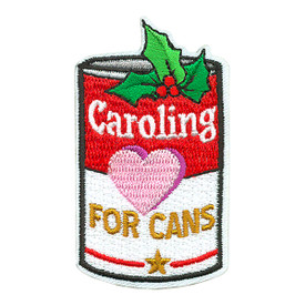 S-3921 Caroling For Cans Patch